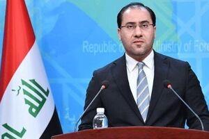 سخنگوی وزارت امور خارجه عراق - کراپشده