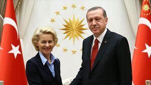 گفتوگوی اردوغان با رئیس کمیسیون اتحادیه اروپا