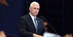پنس با تکرار ادعای تقلب در انتخابات سکوتش را شکست