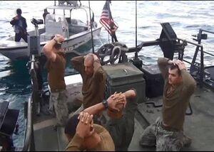 فیلم/ اسارت نیروهای آمریکایی با دوشکای بدون خشاب
