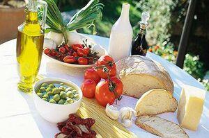 کاهش خطر پیشرفت سرطان پروستات با رژیم غذایی مدیترانه ای