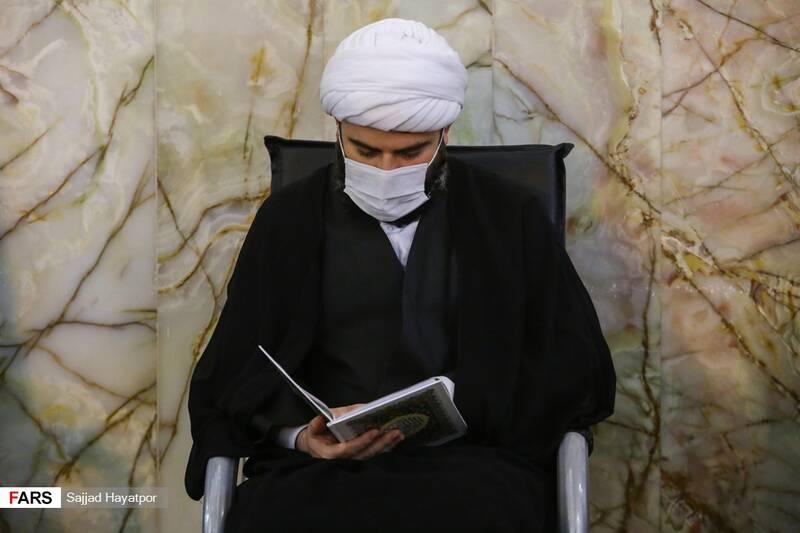 رئیس سازمان تبلیغات اسلامی در گرامیداشت هفتمین روز ارتحال آیت الله مصباح یزدی در حرم حضرت معصومه (س)