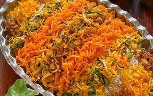 طرز تهیه «هویج پلو»