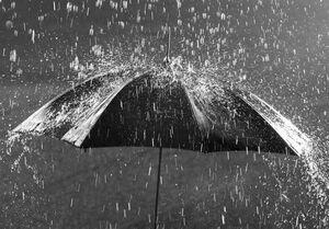 پیشبینی بارشهای پراکنده باران در تهران