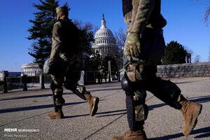 اقدامات امنیتی برای حفاظت از ساختمان کنگره آمریکا