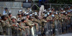 حفاظت از مراسم تحلیف بایدن با ۱۵ هزار نظامی