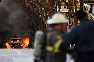 نشت گاز از تانکر حمل سوخت در ماهشهر دو کشته و زخمی برجای گذاشت