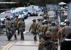 تخلیه ضلع غربی کنگره آمریکا به دلیل تهدیدات امنیتی