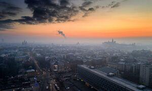 عکس/ آلودگی هوا در لهستان