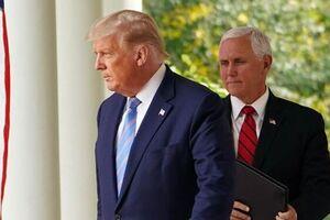 پنس قصد شرکت در مراسم خداحافظی ترامپ را ندارد