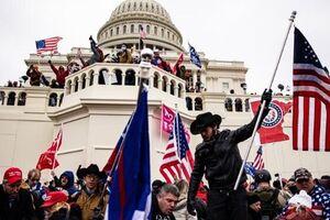 بمبگذاری در واشنگتن در جریان آشوبهای چهارشنبه کنگره - کراپشده