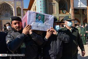 تشییع پیکر دو شهید نیروی انتظامی