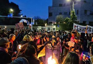 فیلم/ تظاهرات در مقابل خانه غصبی نتانیاهو