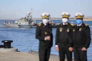 عکس/ الحاق ناو موشکانداز «زره» به نیروی دریایی ارتش