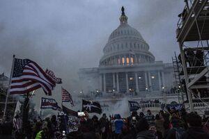 کنگره آمریکا در آتش