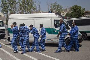 ۵ باند سرقت ,و ۵۳۳ سارق در دام پلیس غرب تهران/ ۸۷ نفر قاچاقچی کالا و اسلحه دستگیر شدند - کراپشده
