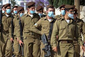 ثبت بالاترین میزان ابتلا به کرونا در میان نظامیان صهیونیست به رغم واکسیناسیون - کراپشده