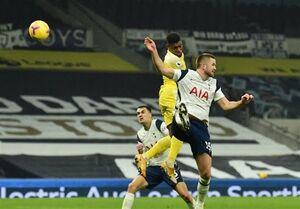 لیگ برتر انگلیس| تاتنهام به همشهری رده هجدهمیاش امتیاز داد