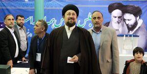 اولین واکنش حسن خمینی بعد از کناره گیری از انتخابات