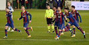 سوپرکاپ اسپانیا| صعود بارسلونا در ضربات پنالتی با دستان تراشتگن