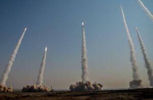 برگزاری مرحله اول رزمایش پیامبر اعظم(ص) ۱۵ سپاه با شلیک انبوه موشکهای بالستیک/ سردار حاجیزاده: موشکهای شلیک شده نسل جدید از بالستیکها بود؛ امروز قدرت جدیدی در سپاه متولد شد