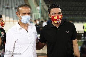 یحیی گلمحمدی، برنده دوئل با جواد نکونام