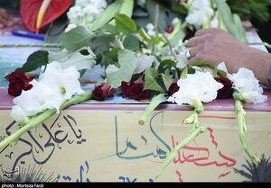 وداع مردم تبریز با ۴ شهید گمنام دفاع مقدس +عکس