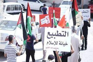 تظاهرات بحرینیها در اعتراض به تعیین کاردار صهیونیستی +عکس و فیلم