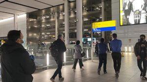 کشف بسته مشکوک و تخلیه پایانه دوم فرودگاه اصلی انگلیس