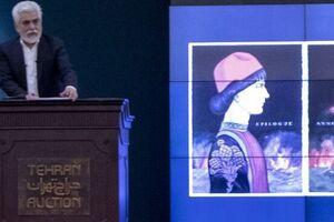 فروش ۱۲میلیاردی نقاش حاشیهساز در حراج تهران +عکس