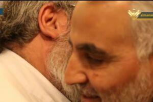 آخرین خداحافظی و وداع شهید حاج قاسم سلیمانی با سیدحسن نصرالله - کراپشده