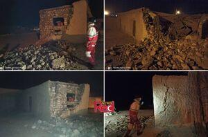 اولین تصاویر از زلزله ۵.۵ ریشتری در هرمزگان