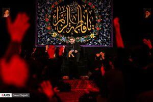 عکس/ عزاداری ایام فاطمیه در هیئت مکتب الزهرا(س)