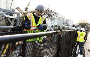 عکس/ افزایش تدابیر امنیتی در واشنگتن