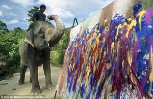 عکس/ فیلهایی که نقاشی میکشند