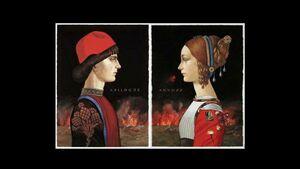 فیلم/ واکنش مجری به حراج میلیاردی تابلوی نقاشی