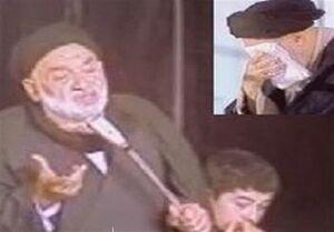 ذکر مصیبت «شب دفن حضرت زهرا (س)»+فیلم