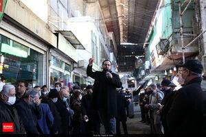 عکس/ عزاداری بازاریان تهران در آستانه شهادت حضرت زهرا(س)