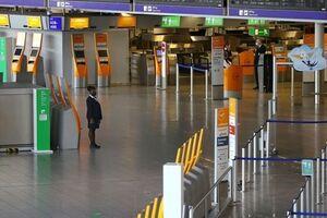تخلیه فرودگاه بین المللی فرانکفورت به دنبال مشاهده یک فرد مسلح - کراپشده