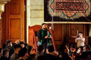 عکس/ عزاداری شب شهادت حضرت زهرا(س) در حرم حضرت رقیه(س)