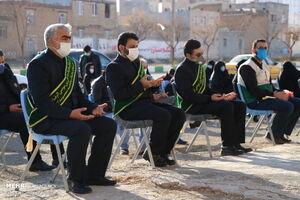 عکس/ عطر روضه فاطمی در کوچههای کرمانشاه