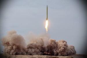 رزمایش موشکی پیامبر اعظم 15 - موشک بالستیک نمایه
