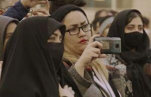 فیلم/ استقبال مردم از هیئت سیار در میدان تجریش