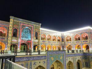 ایرانیان نام «فاطمه (س)» را در حرم علوی احیا کردند/ جدیدترین تصاویر از صحن حضرت زهرا(س)