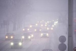 عکس/ بارش برف در ورشو لهستان