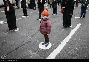 عکس/ عزاداری شهادت حضرت زهرا(س) در میدان هفتتیر