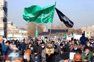 عکس/ عزاداری شهادت حضرت فاطمه (س) در مشهد