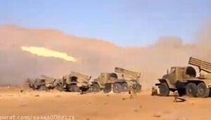فیلم دیدنی قدرت آتش توپخانه ارتش جمهوری اسلامی