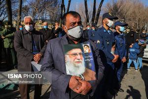 عکس/ تشییع شهدا تازه تفحص شده در اصفهان