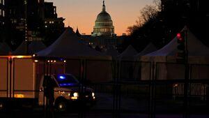 بازداشت زن میانسال آمریکایی از سوی پلیس کنگره